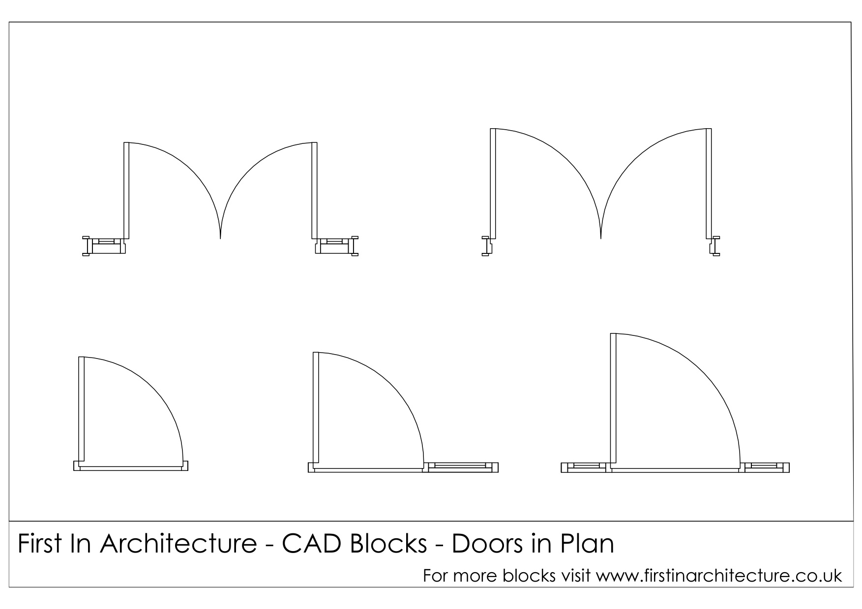 free cad blocks door elevationsplans first in architecture