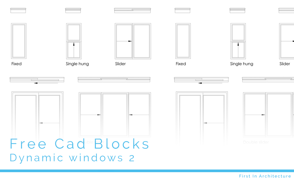 Free Cad Blocks Dynamic Windows 2