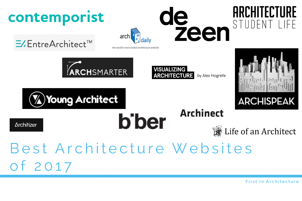 Best architecture blogs and websites of 2017 first in for Best architects websites