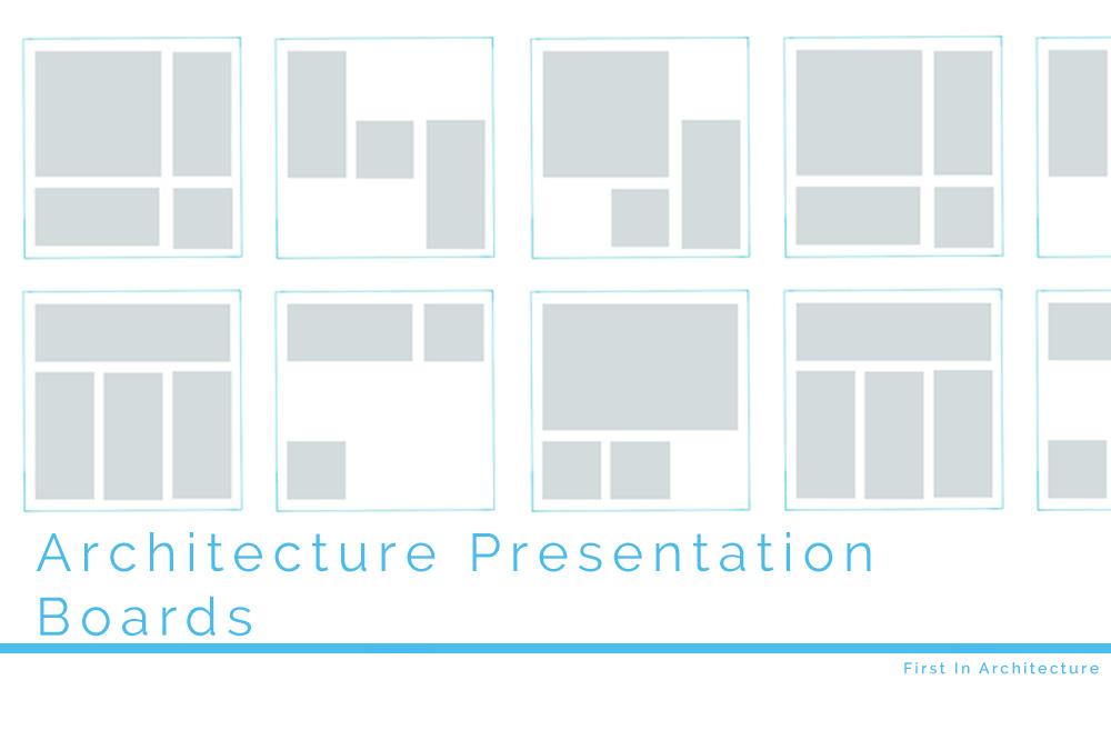 Architecture Presentation Board Tips